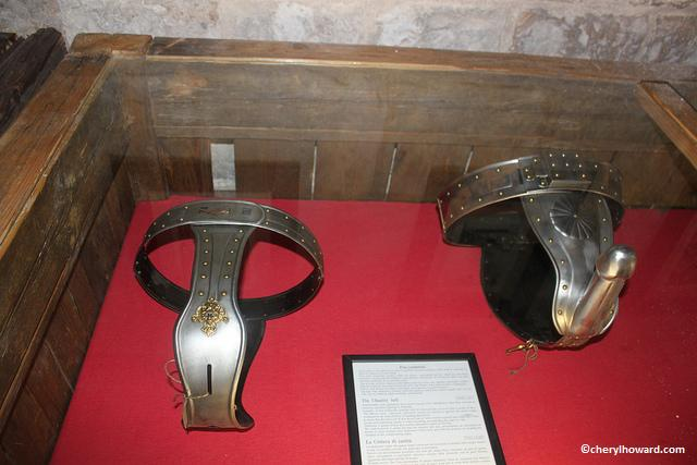 Museum of Medieval Torture Instruments - Chastity Belts