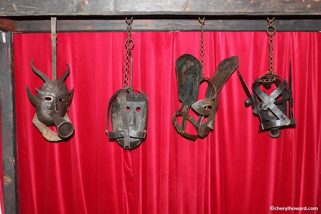 Masks Worn By Petty Criminals