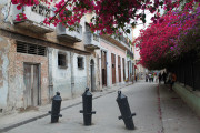 A random street in Old Havana, Cuba.