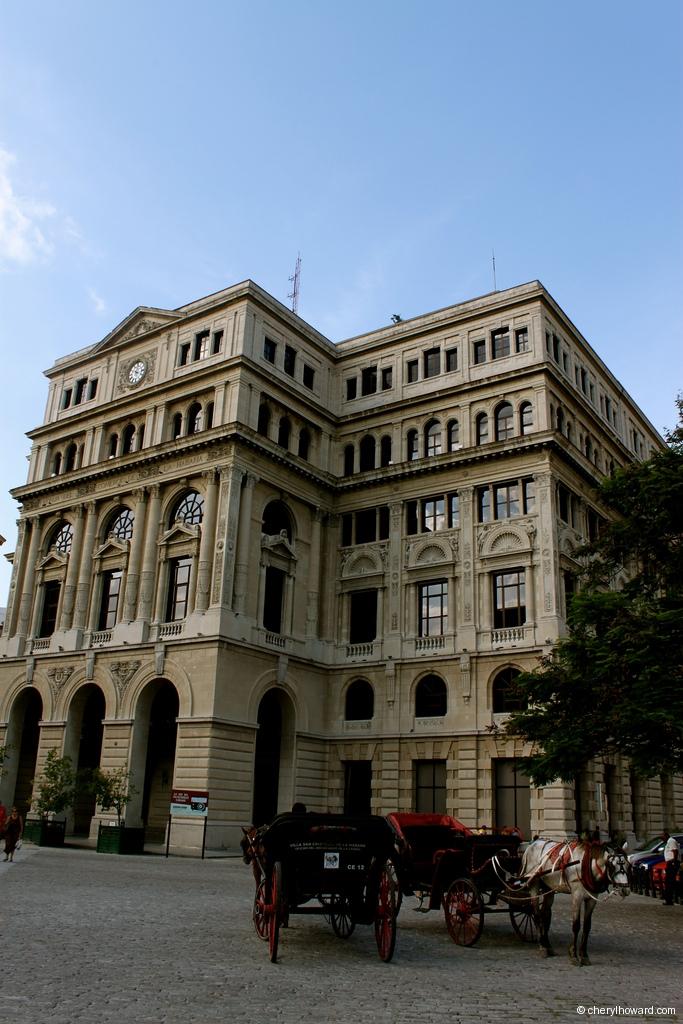 Architecture Plaza De San Francisco Havana