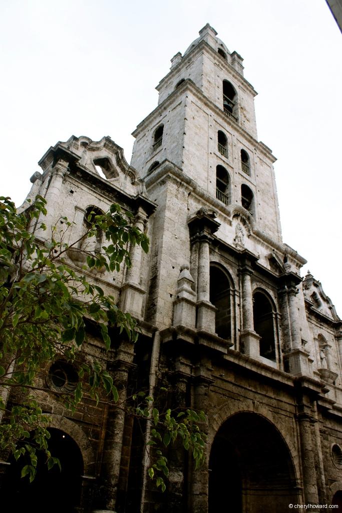 Basilica Old Havana Looking Up