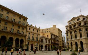 Plaza De San Francisco In Cuba