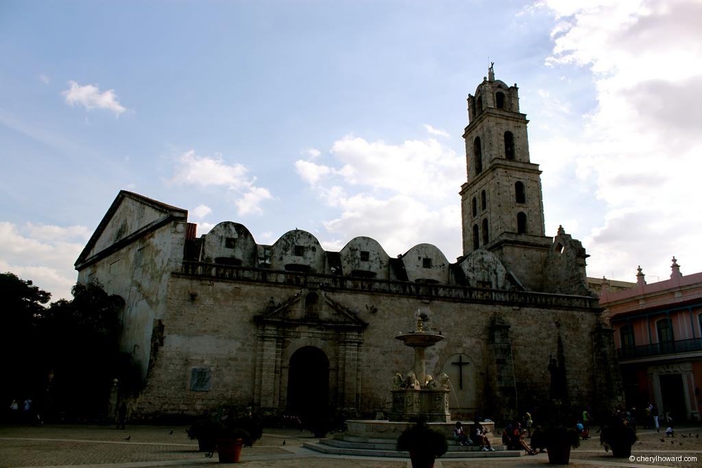 Plaza De San Francisco In Old Havana