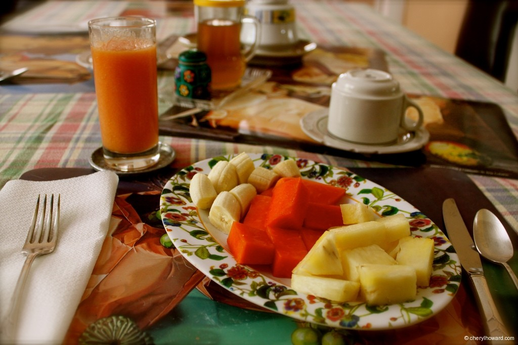 Breakfast in Havana Cuba