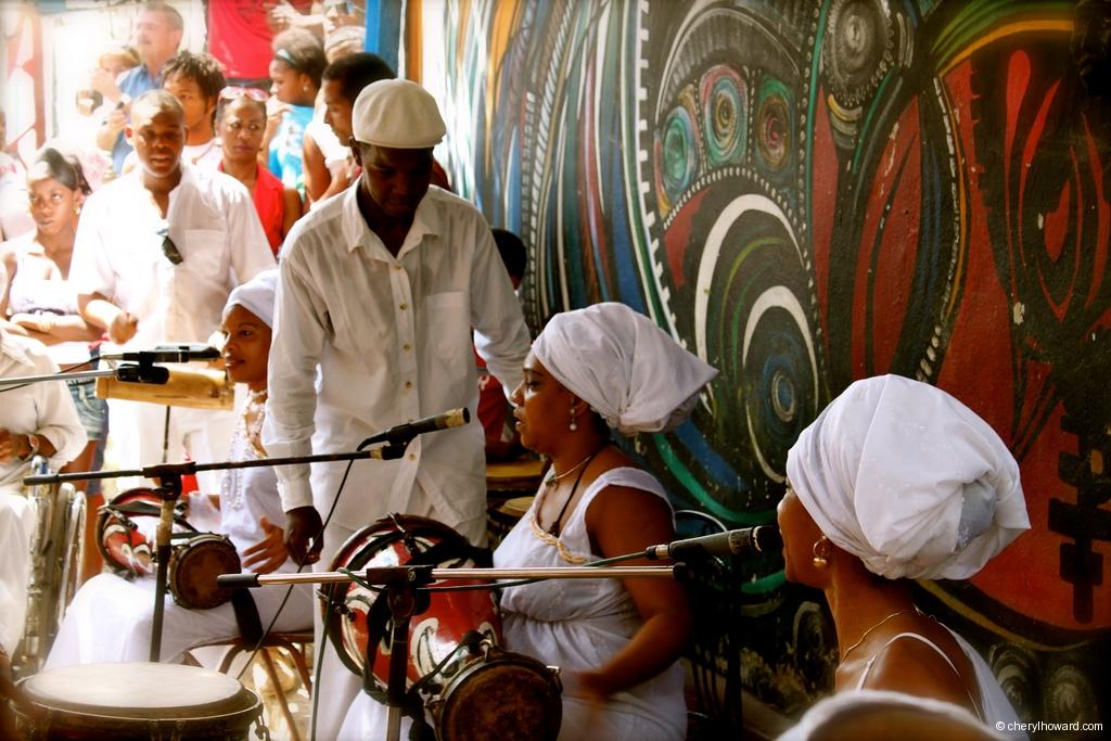 Callejón De Hamel Havana Cuba Rumba