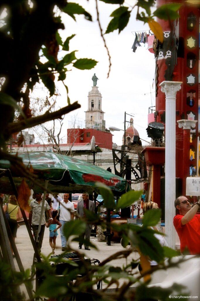 Callejón De Hamel - Havana Cuba View