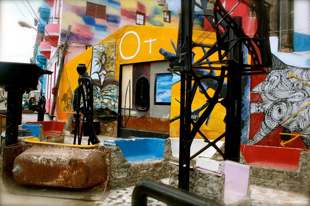 Callejón De Hamel In Havana Art Community Artwork