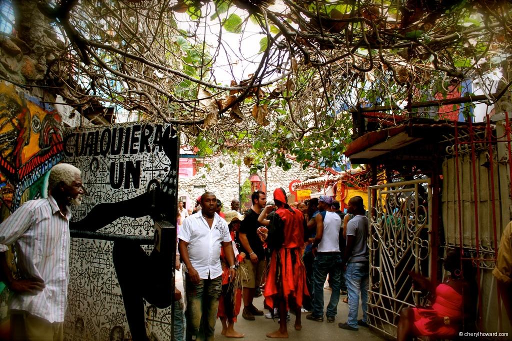 Callejón de Hamel Havana Cuba Community