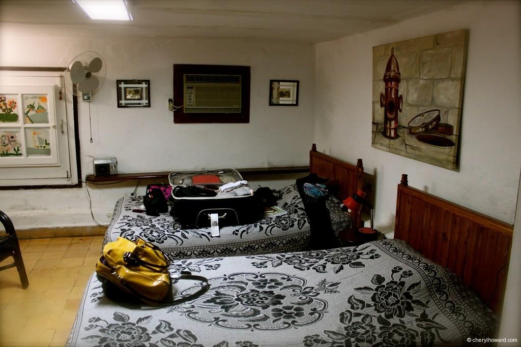 Room at a Casa Particular in Havana