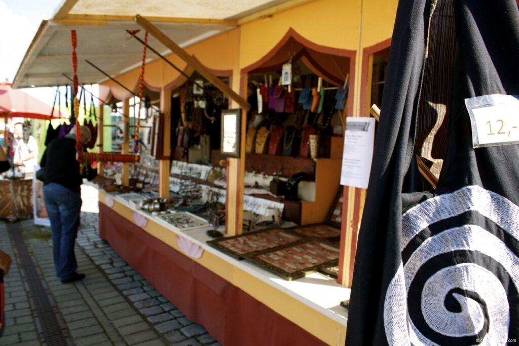 Hanse Sail In Rostock Market - Medieval Market