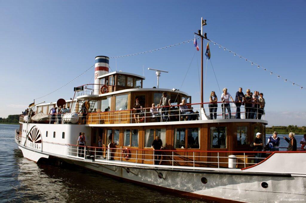 Hanse Sail In Rostock Market - Party Boat