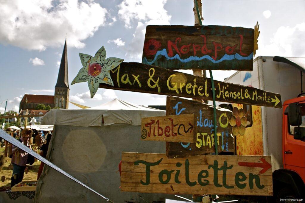 Hanse Sail In Rostock Market - Signs