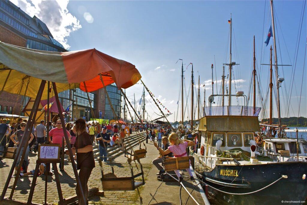 Hanse Sail In Rostock Market - Tall Ship