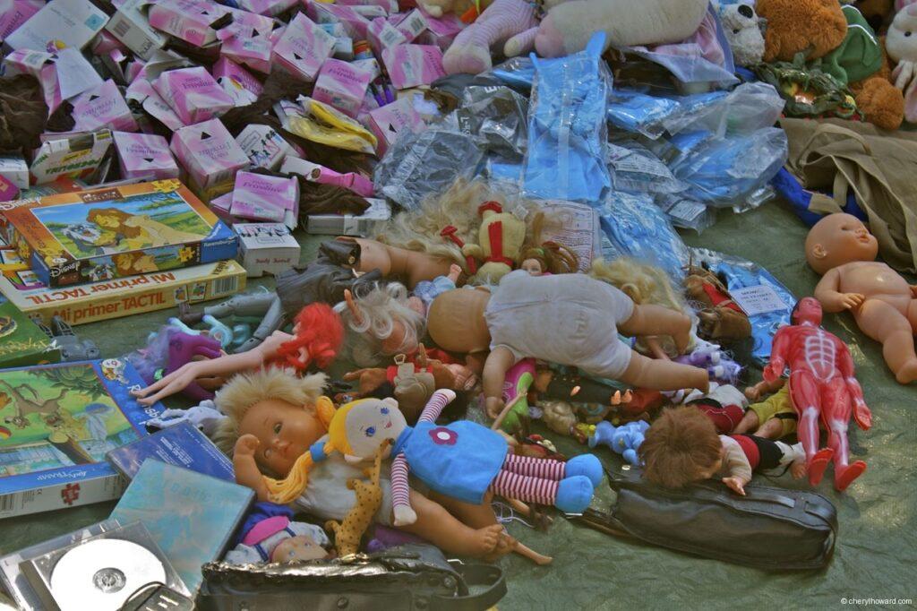 Encants Vells Market Barcelona Dolls