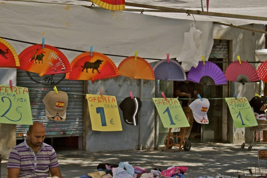 Encants Vells Market Barcelona Junk
