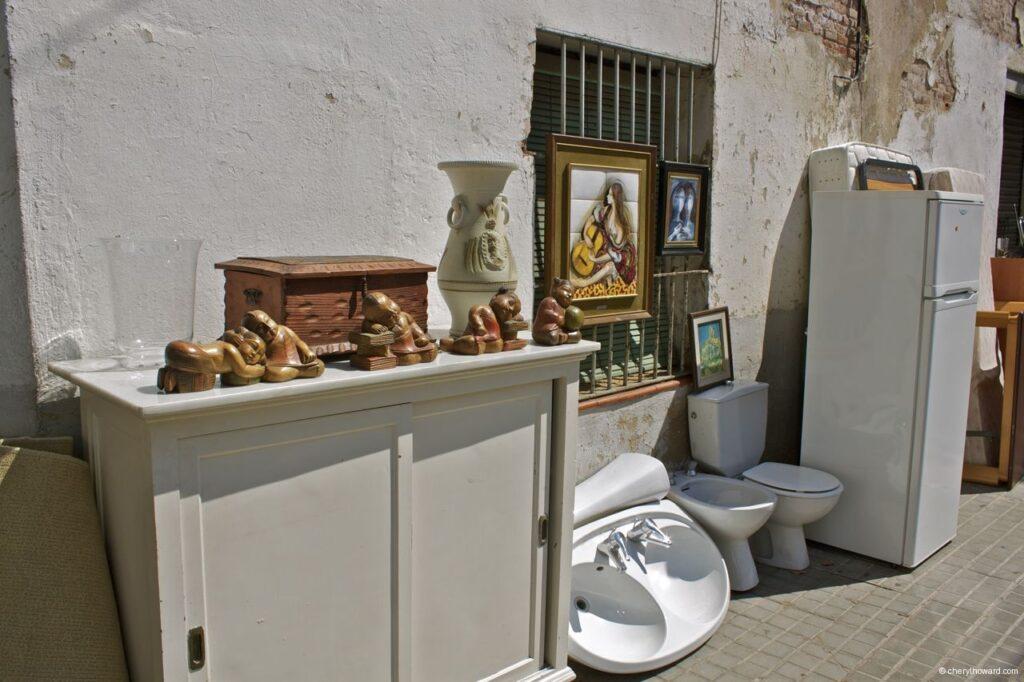 Encants Vells Market Barcelona Toilet