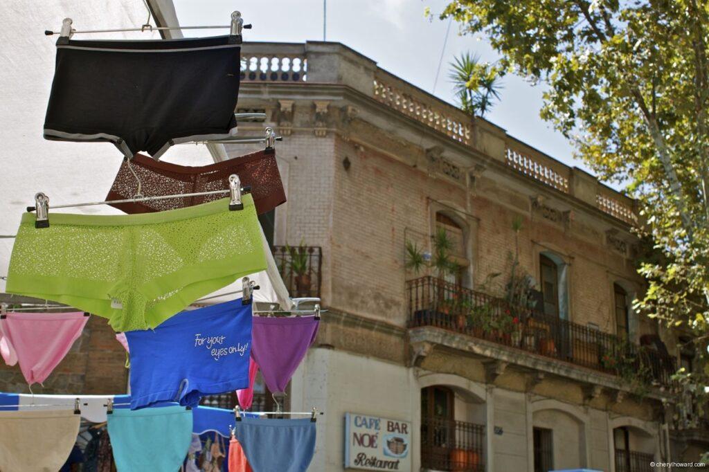 Encants Vells Market Barcelona Underwear