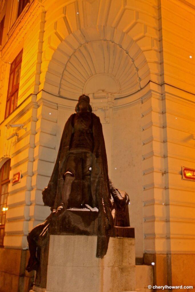 Prague Darth Vader Statue