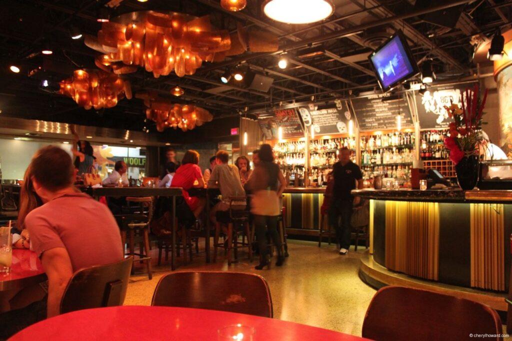 The Drake Hotel Bar Area