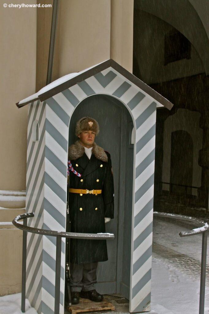 Weird Things In Prague - Guard At Prague Castle