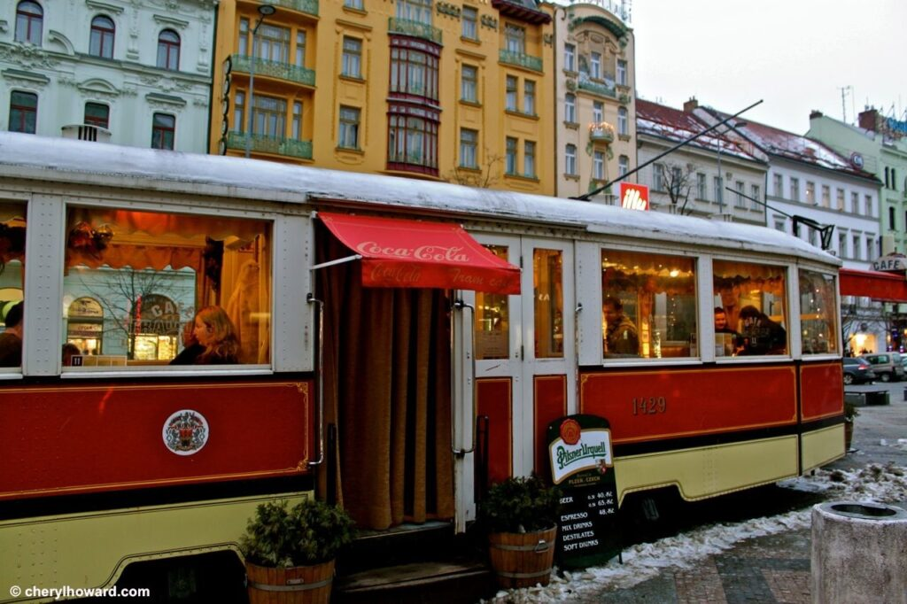 Weird Things In Prague - Tramvaj