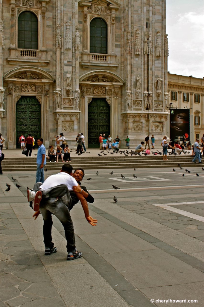 Weird Things In Milan - Joyous Tourists
