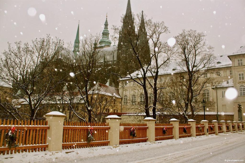 Prague Castle Christmas