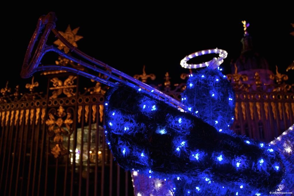 Weihnachtsmarkt Schloss Charlottenburg Blue Angel