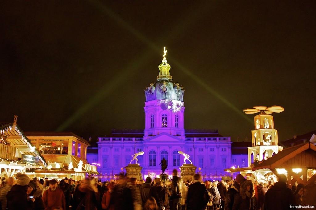 Weihnachtsmarkt Schloss Charlottenburg Front