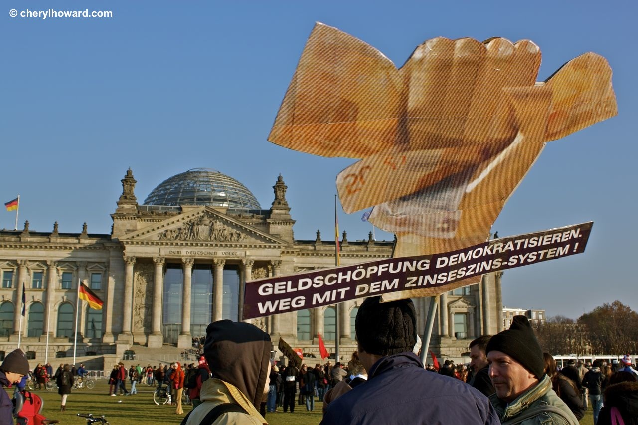 Occupy Berlin Protest Against Wealth