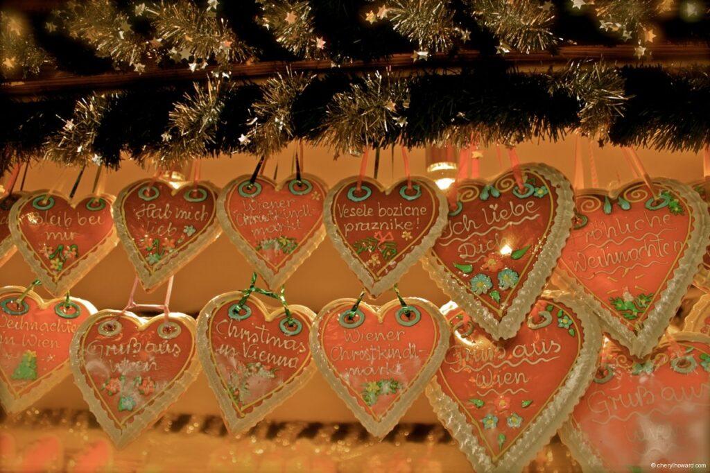 Christmas Cookies - Hearts Vienna