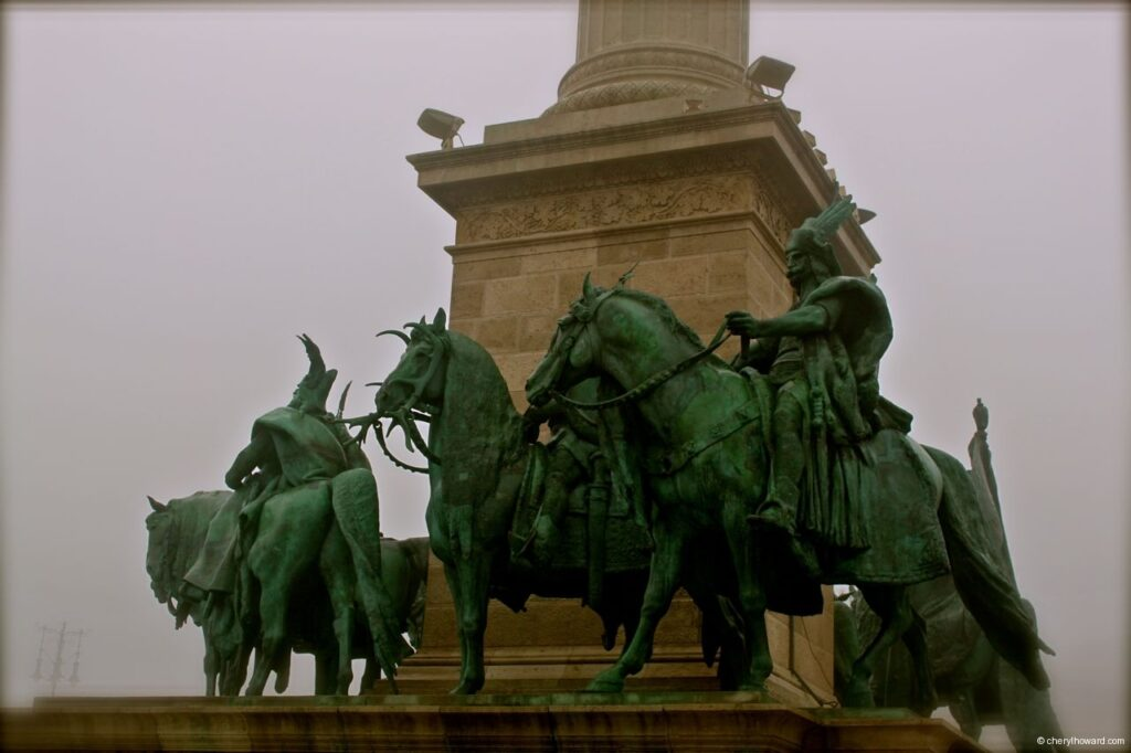Heroes Square Monument Horses