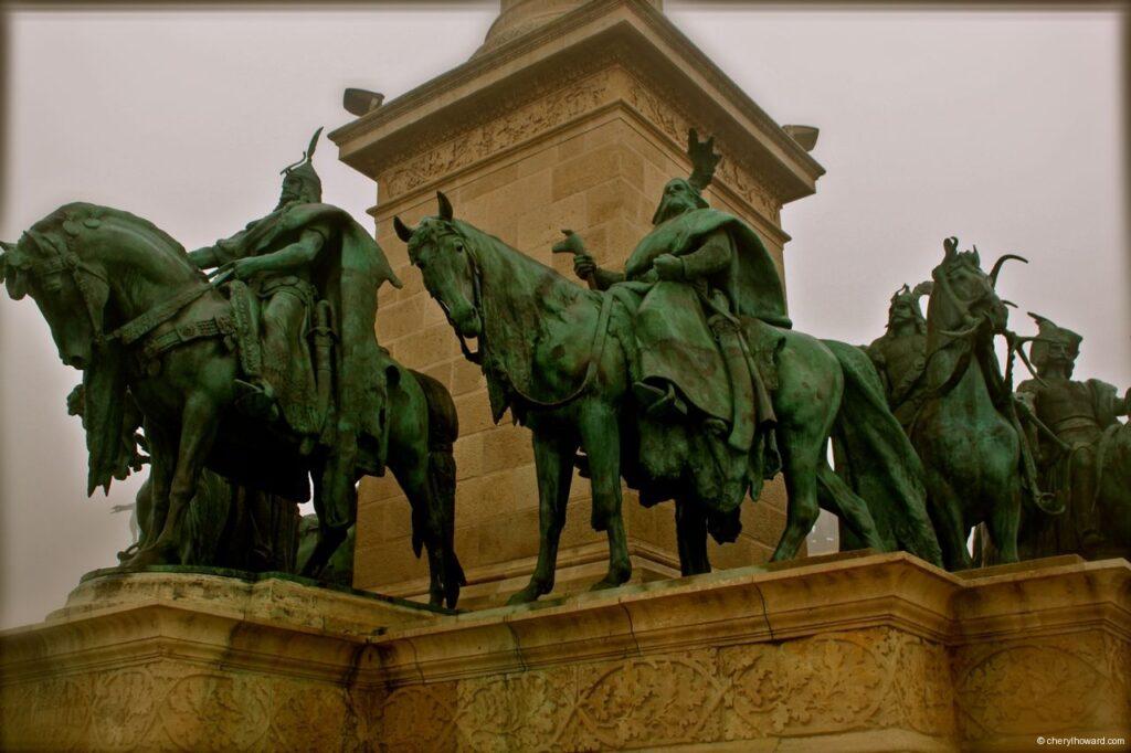 Horses Statue Budapest