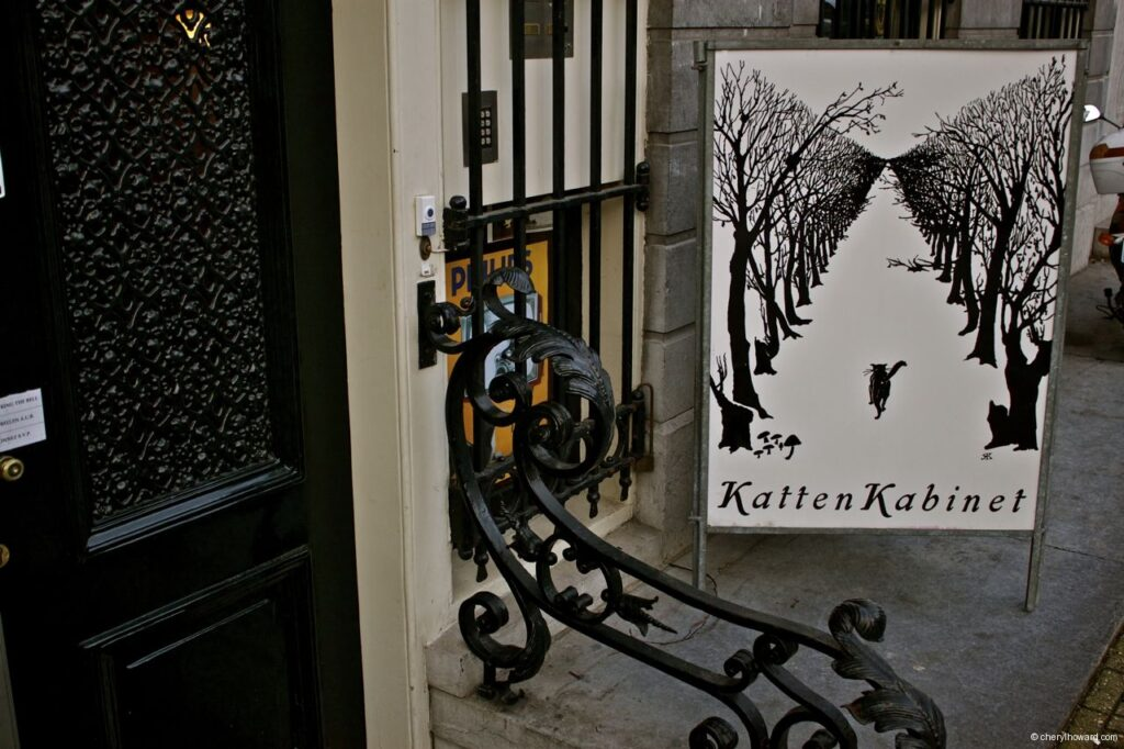 Katten Kabinet Art Museum Amsterdam Entrance