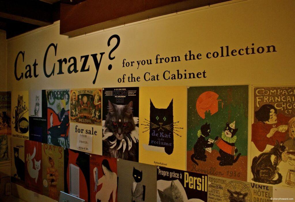 Katten Kabinet Art Museum Cat Crazy