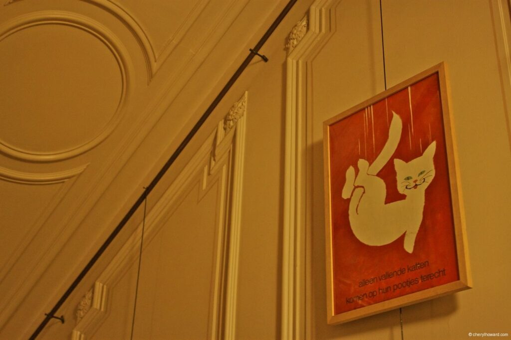 Katten Kabinet Art Museum Cute Poster