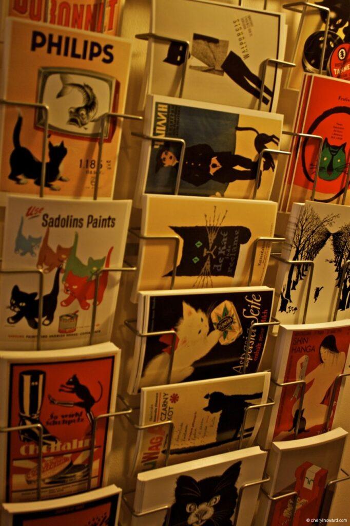 Katten Kabinet Art Museum Postcards