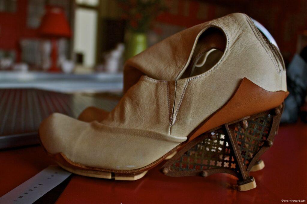 Kei Kegami Retrospective Beige Shoe