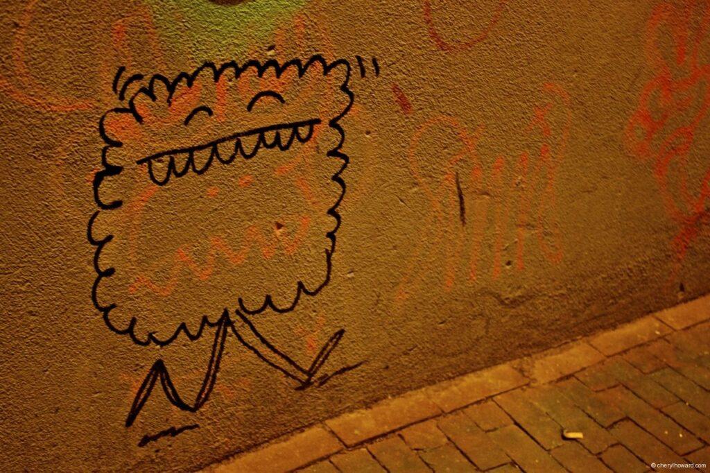 Little Monster Walking