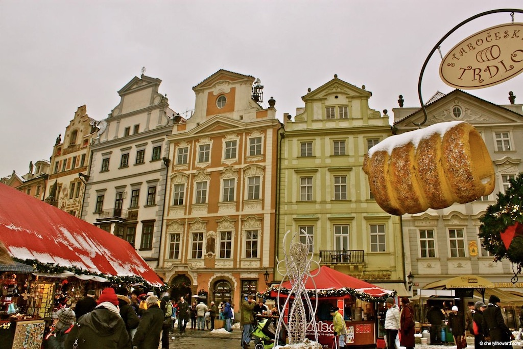 Old Town Square In Prague Xmas Market