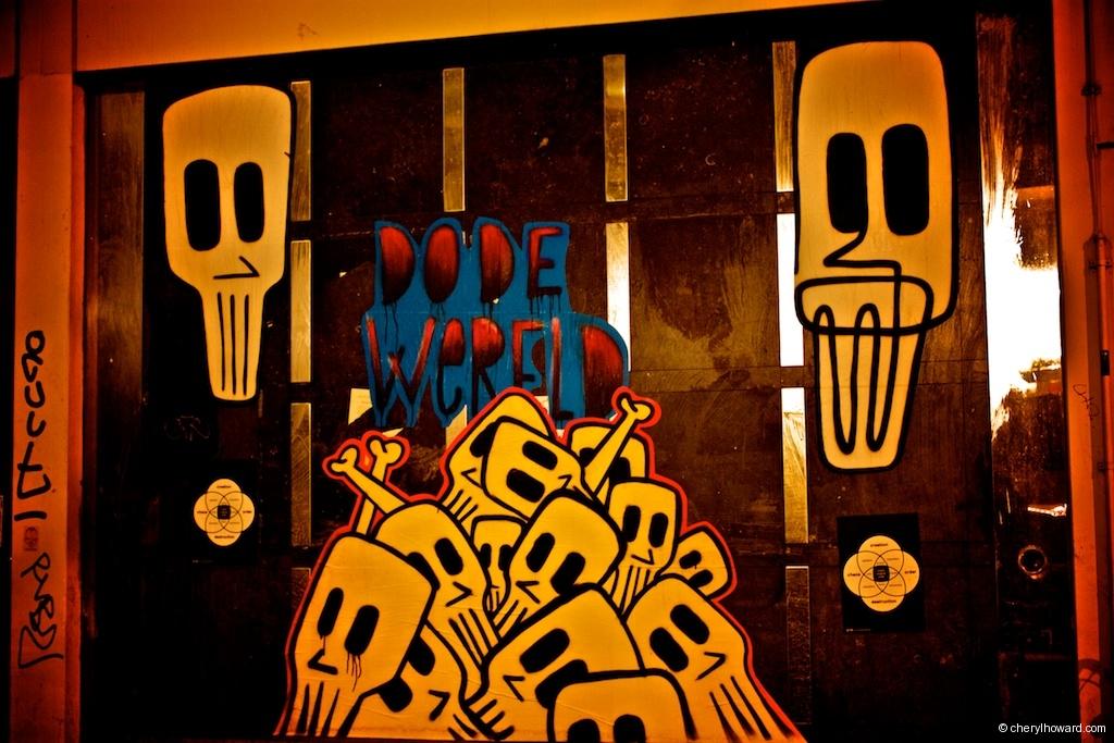 Pile Of Skulls Amsterdam