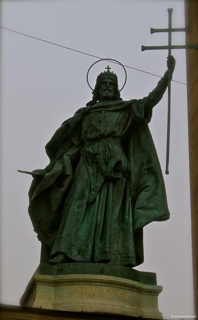 Statue Budapest Historical Figure