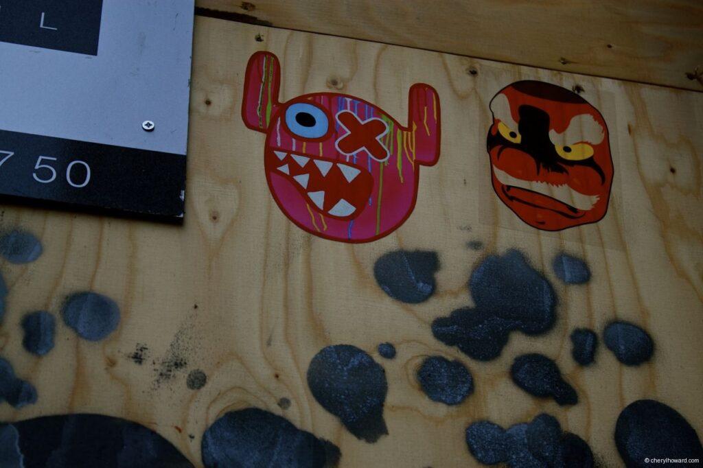 Street Art Amsterdam - Monsters