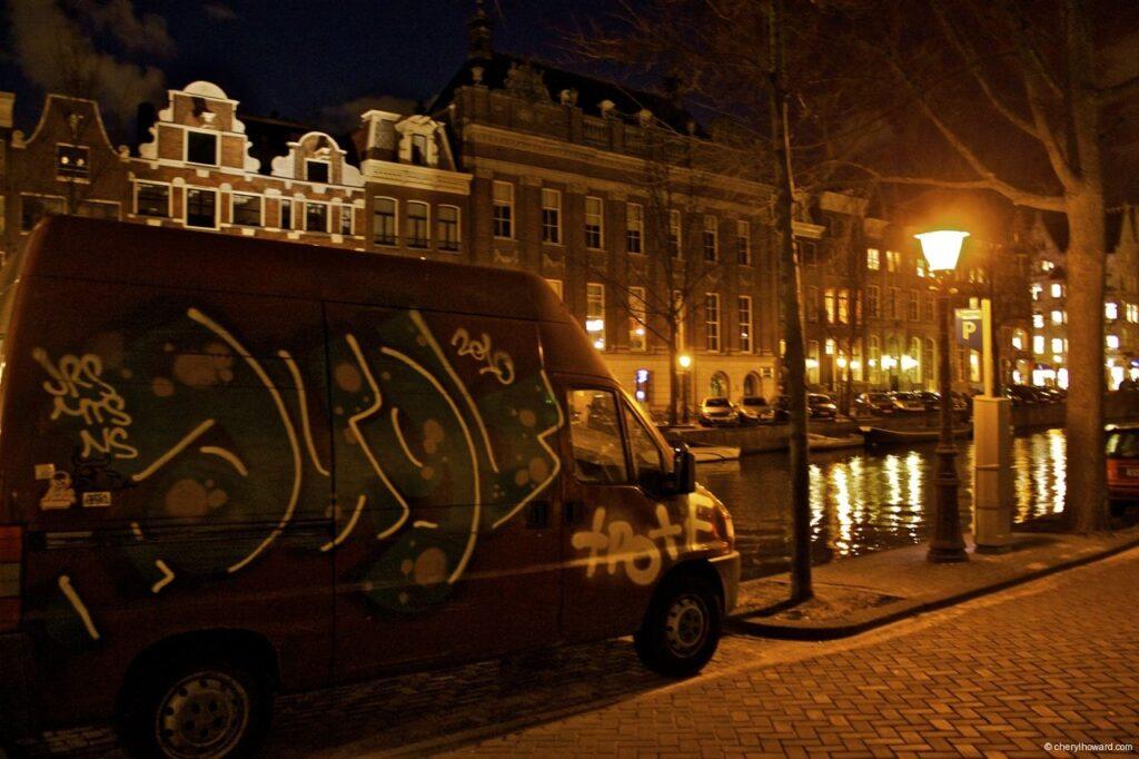 Street Art Amsterdam - Painted Van