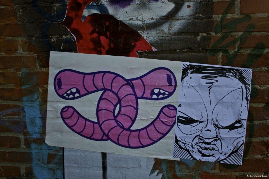Street Art Amsterdam - Worms