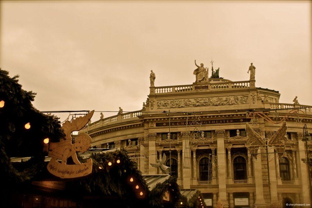 The Burgtheater Vienna