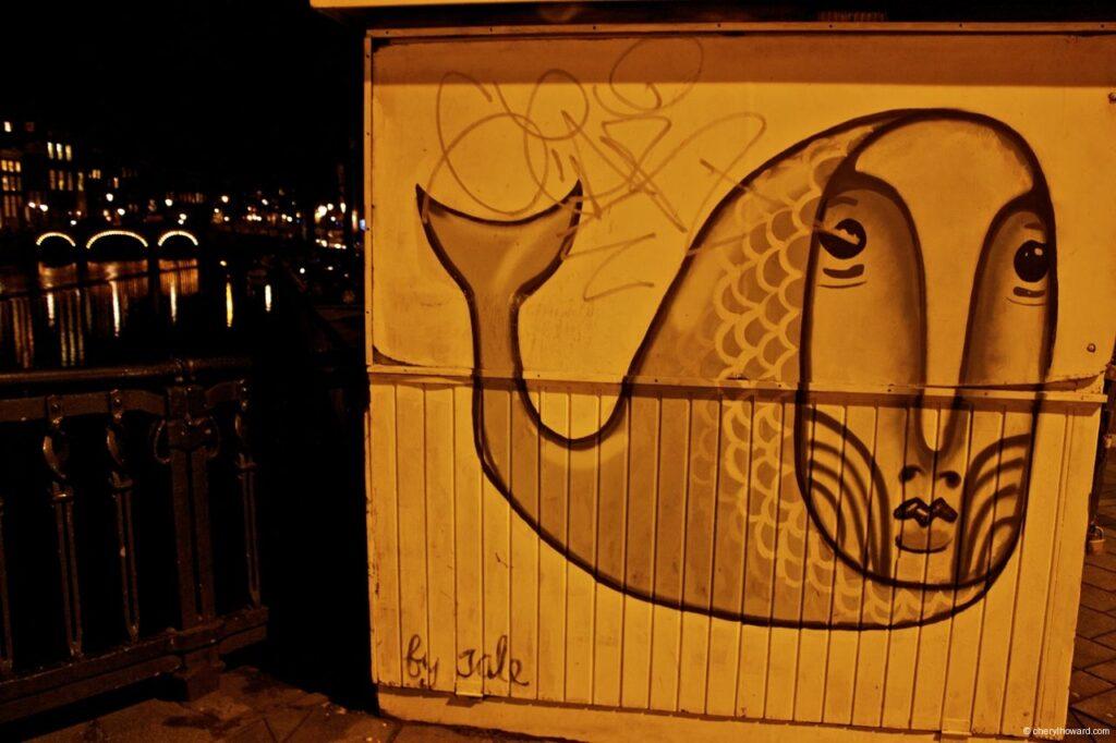 Whale Street Art Amsterdam