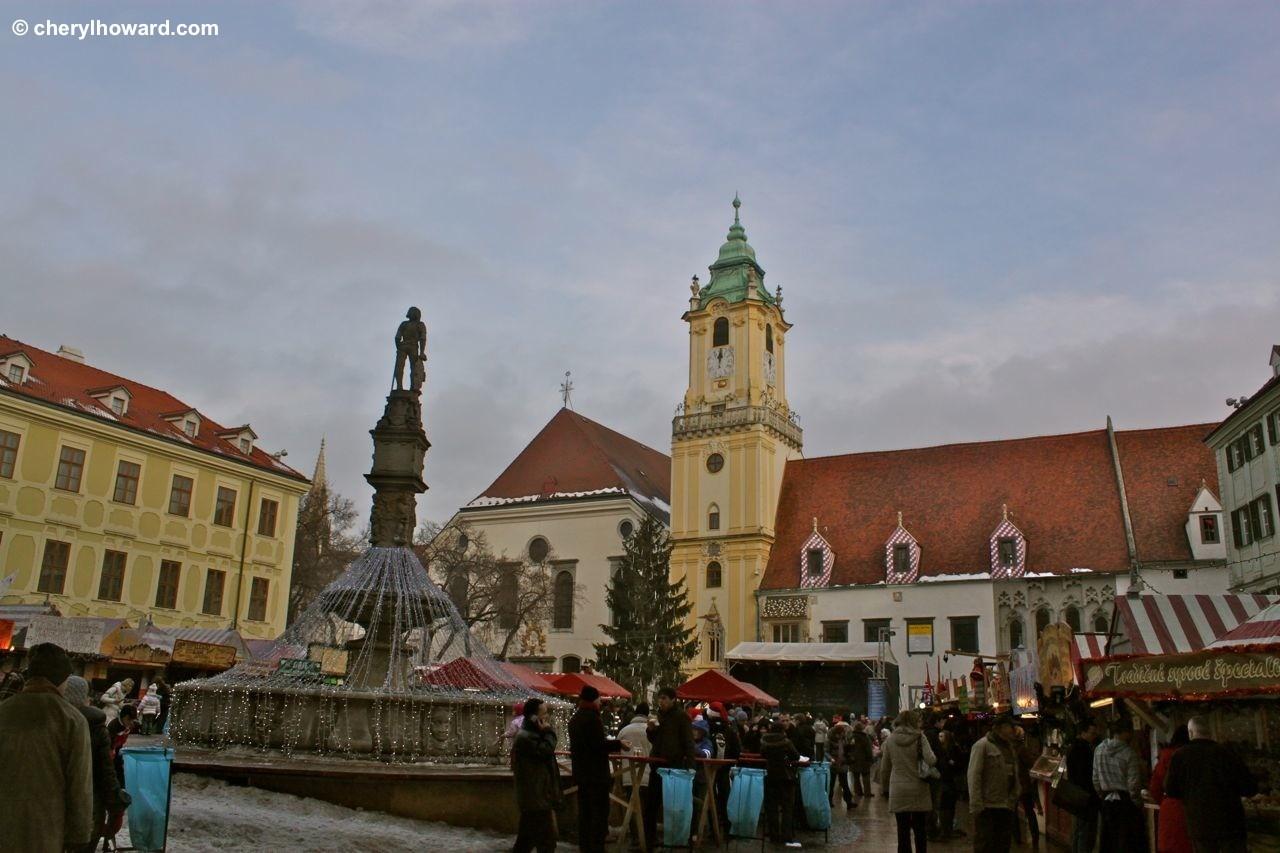 Bratislava Christmas Market - Main Square