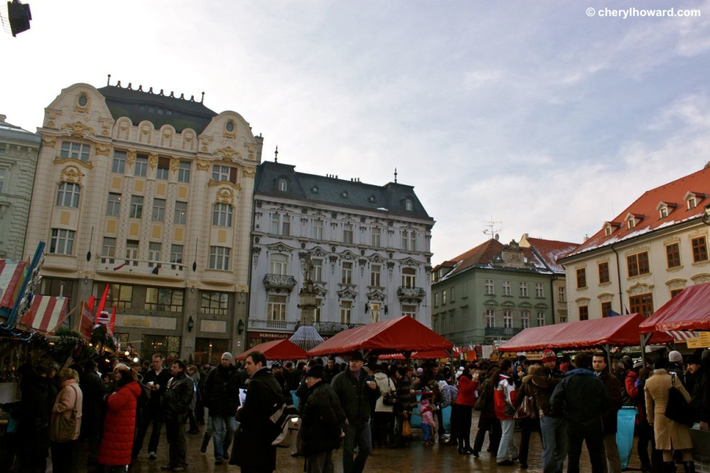 Christmas Markets: Old Town In Bratislava.