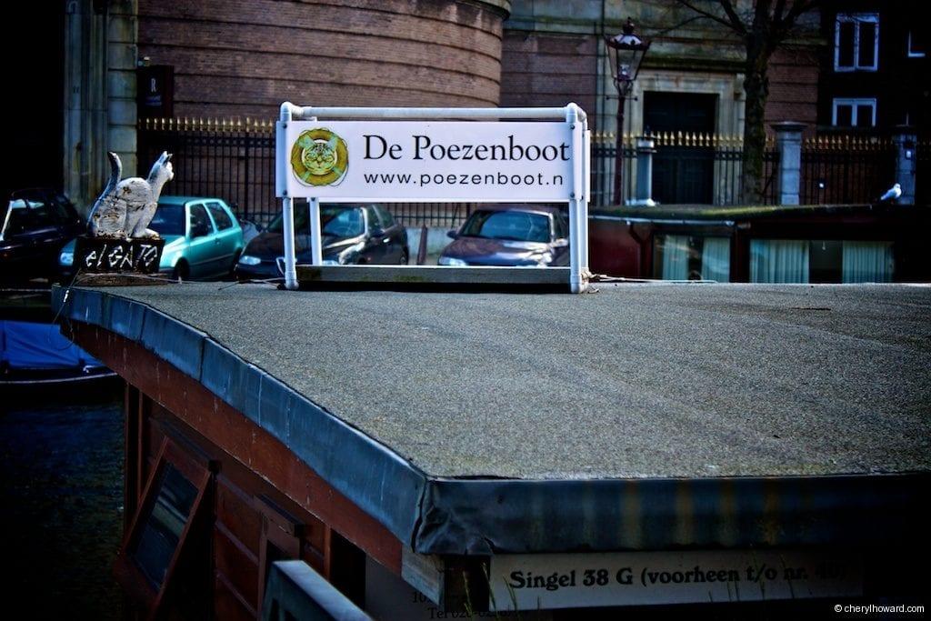 Cat Boat Amsterdam Die Poezenboot